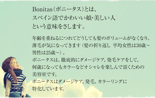 bonitas ボニータス 下北沢で人気の美容室 美容院 ヘアサロン